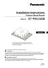 ET-PKE300B Series Operating Instructions (English)