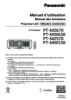 PT-MZ670 Series Operating Instructions (French)